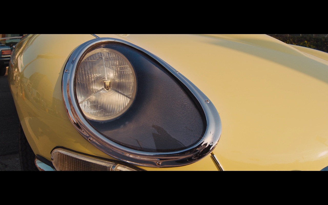Yellow Jaguar E-Type – The Wolf of Wall Street (2)