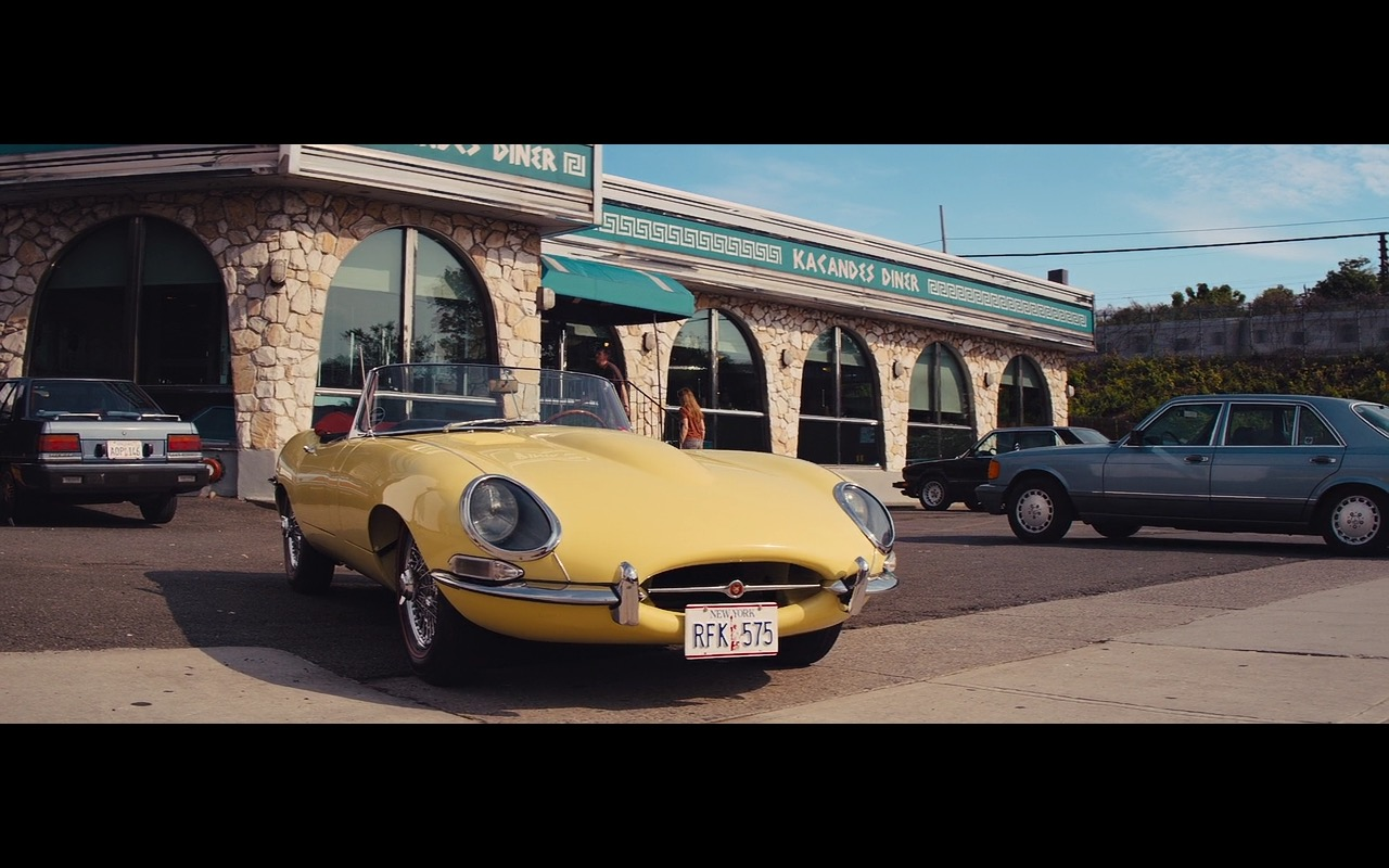 Yellow Jaguar E-Type – The Wolf of Wall Street (7)