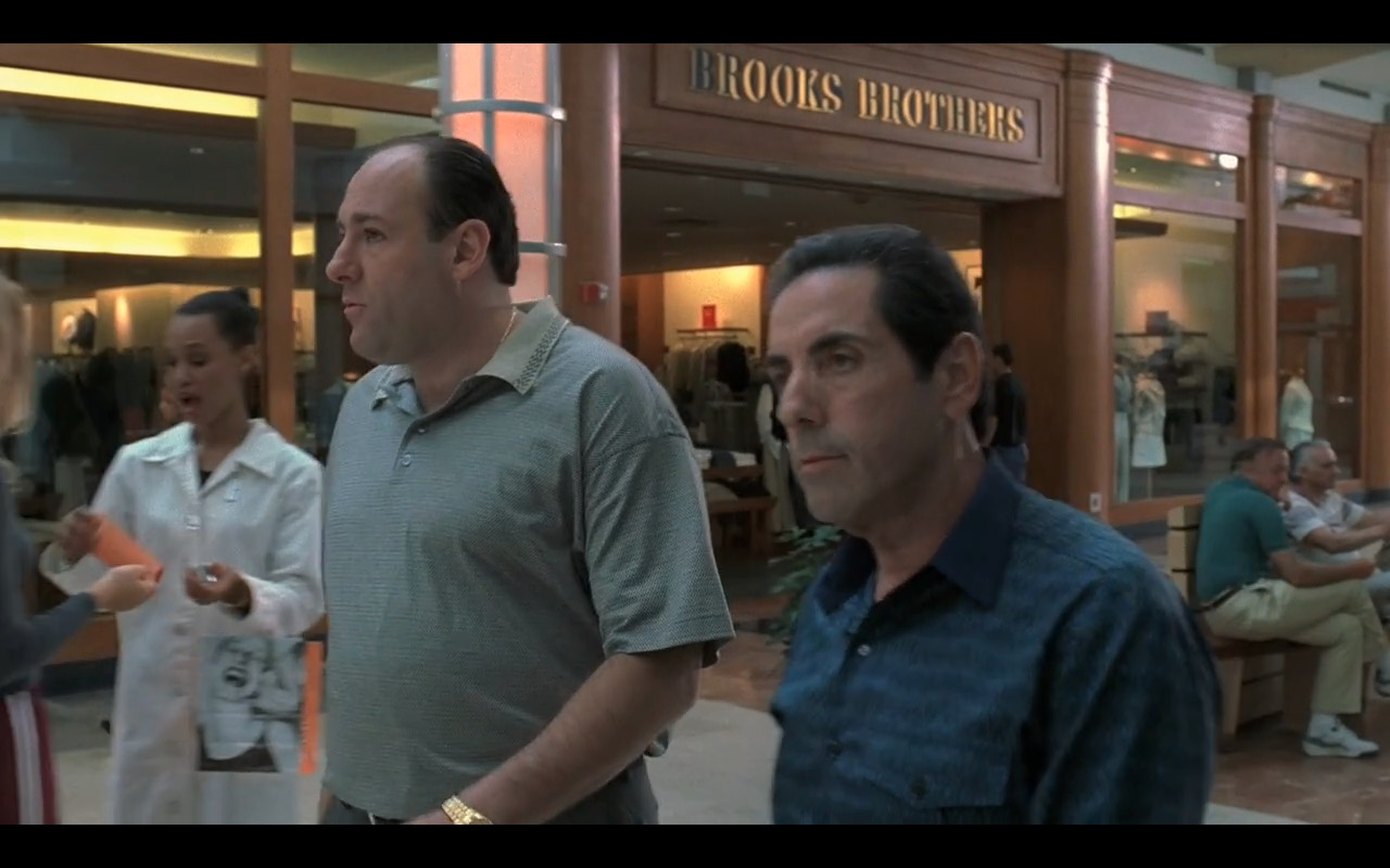 Brooks Brothers – The Sopranos TV Show Product Placement