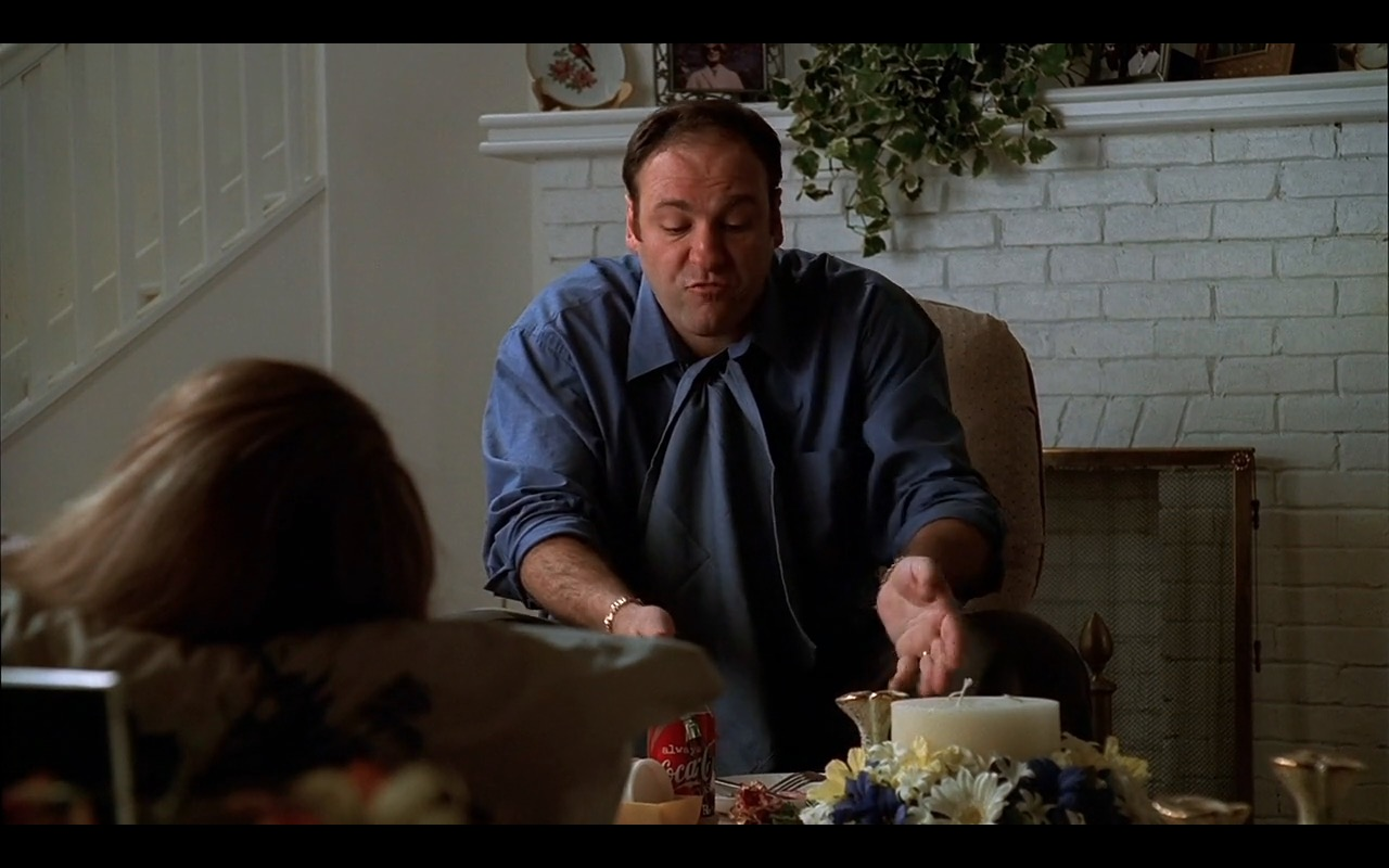 Coca-Cola Can – The Sopranos TV Show Product Placement