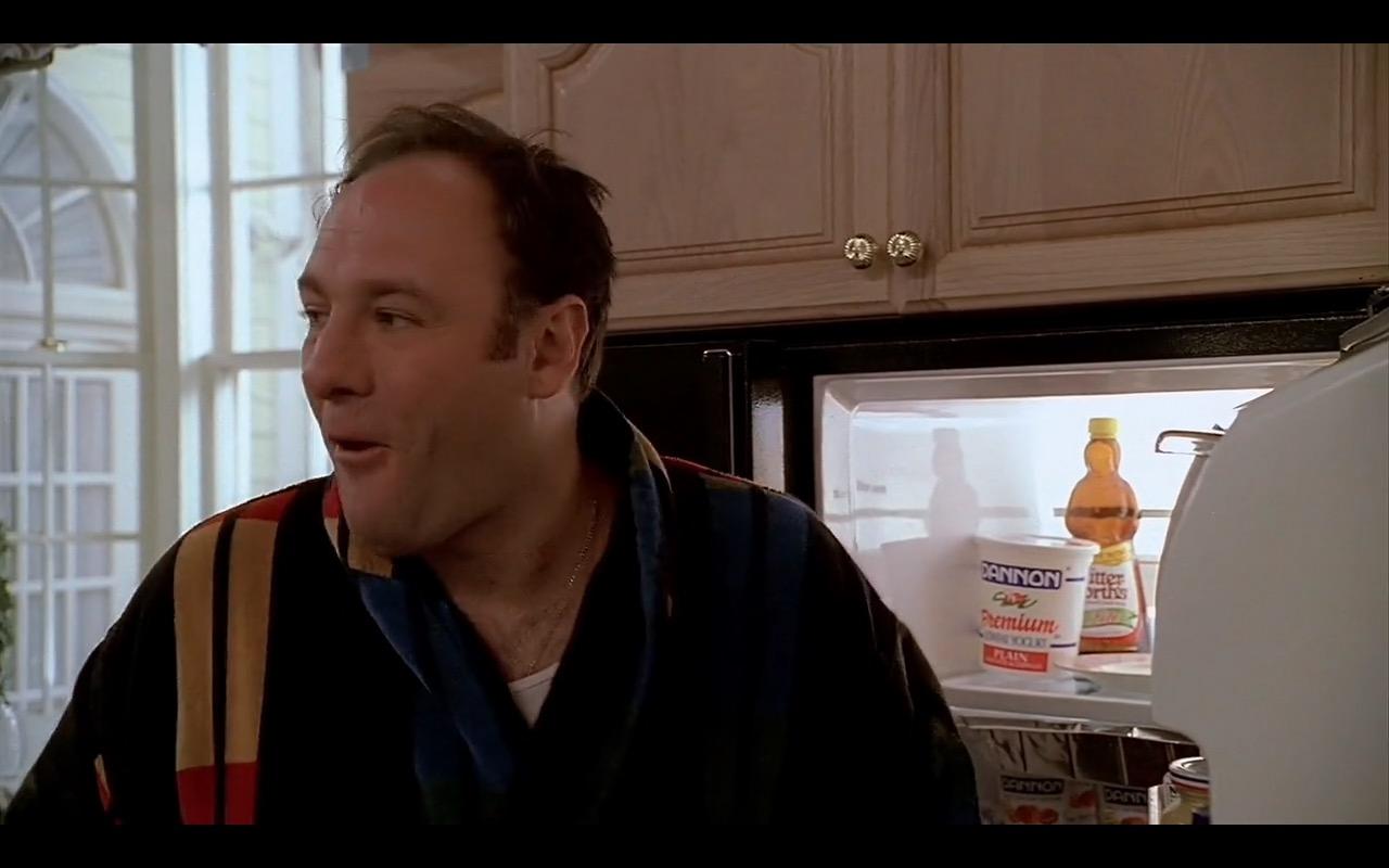 Dannon Yogurt - The Sopranos TV Show Product Placement