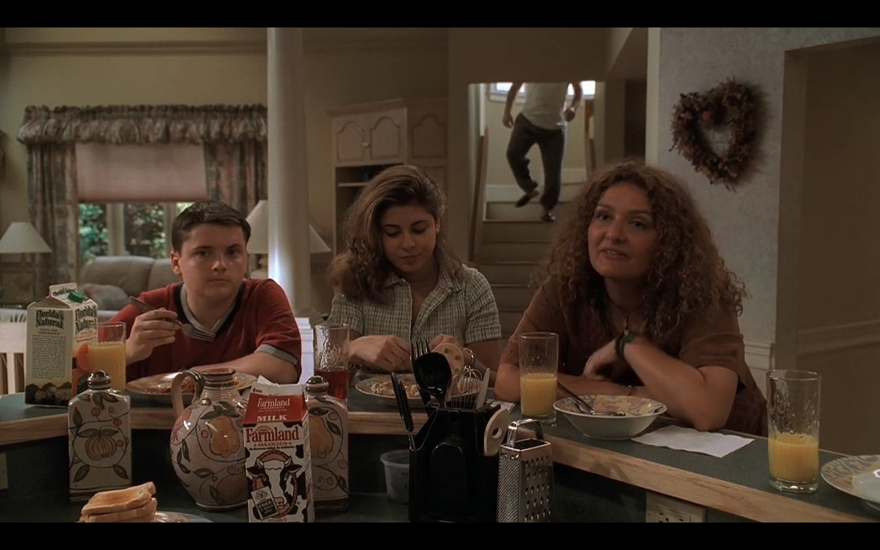 Florida's Natural Orange Juice & Farmland Dairies Milk - The Sopranos TV Show Product Placement