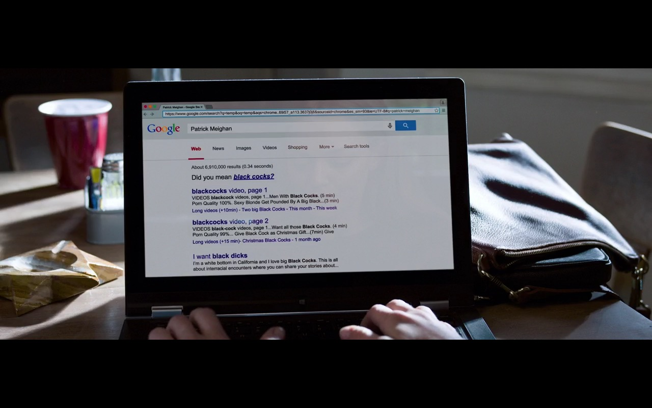 Google – Ted 2 (2015) Movie Product Placement