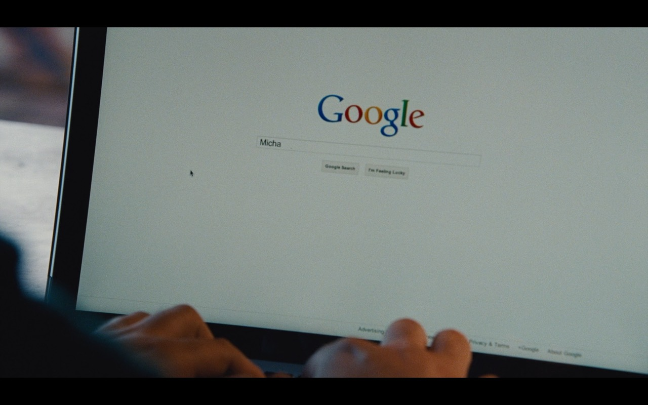 Google – True Story (2015) Movie Product Placement