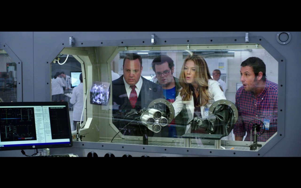 HP Monitor - Pixels (2015) - Movie Product Placement