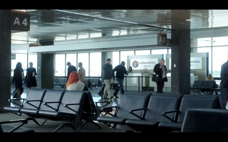 Hawaiian Airlines – American Ultra (2015) Movie Product Placement