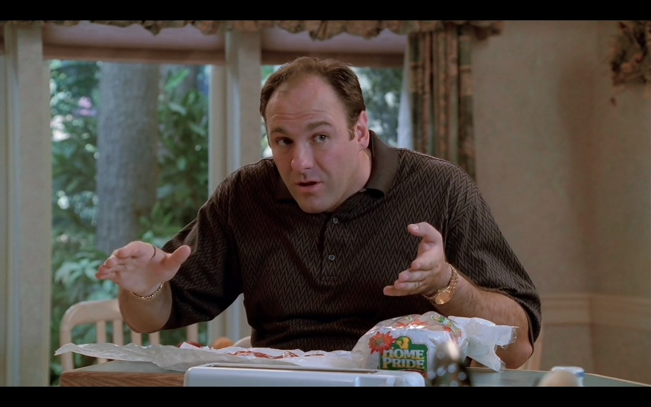 Home Pride Bread - The Sopranos TV Show Product Placement