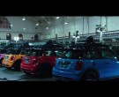 MINI Cooper Pink, Yellow, Red and Blue Cars in Pixels (2015)