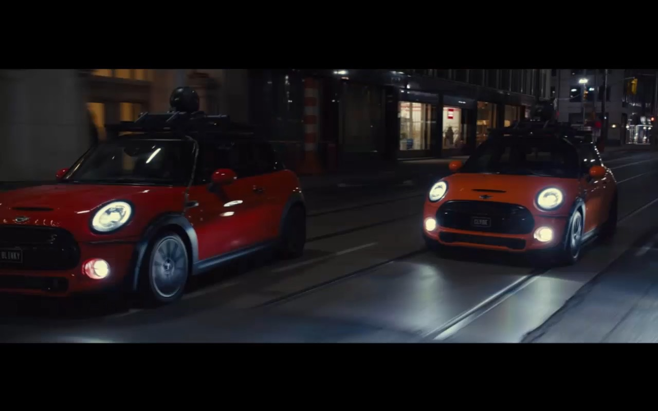 Mini Cooper Pixels 2015 Movie