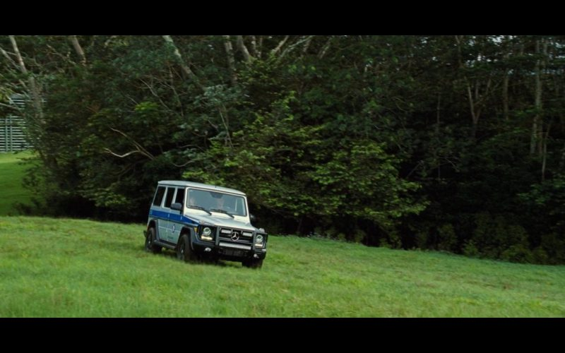 Mercedes-Benz cars in Jurassic World (2015) Movie Product Placement
