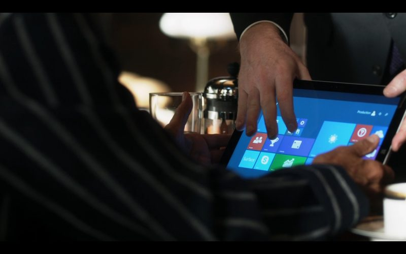 Microsoft's Windows Tablet – Ray Donovan TV Show Product Placement