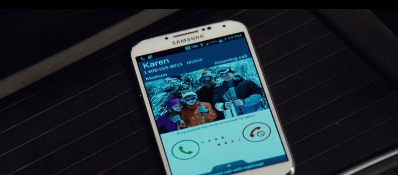 Samsung Galaxy S5 – Jurassic World (2015) Movie Product Placement