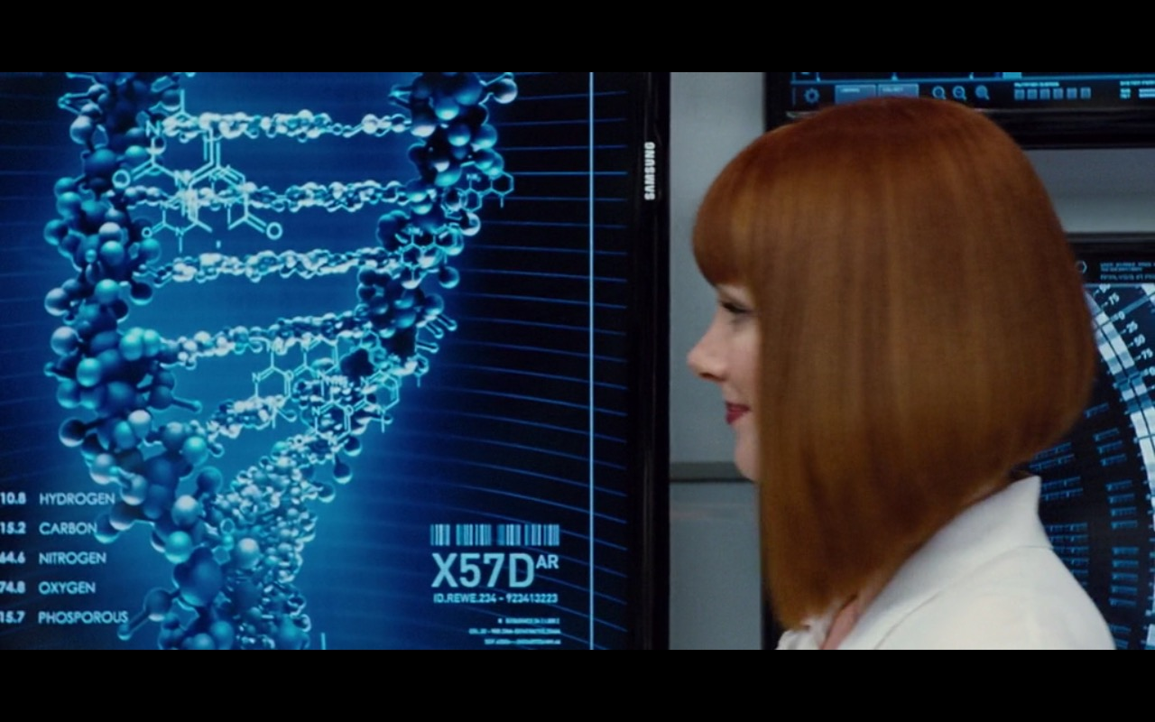 Samsung TV – Jurassic World (2015) Movie Product Placement
