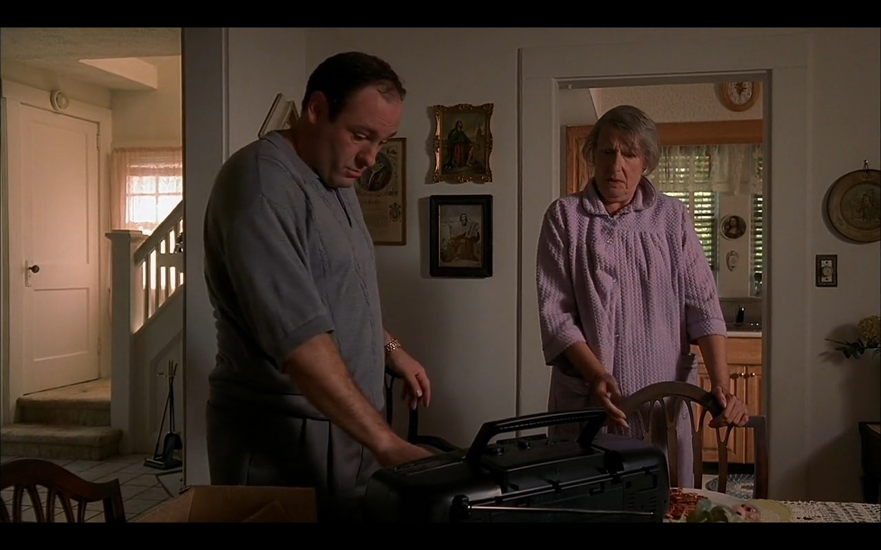 Sharp - The Sopranos TV Show Product Placement