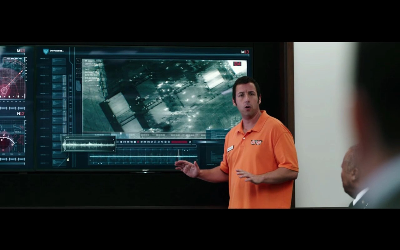 Sony TV – Pixels (2015) Movie Product Placement