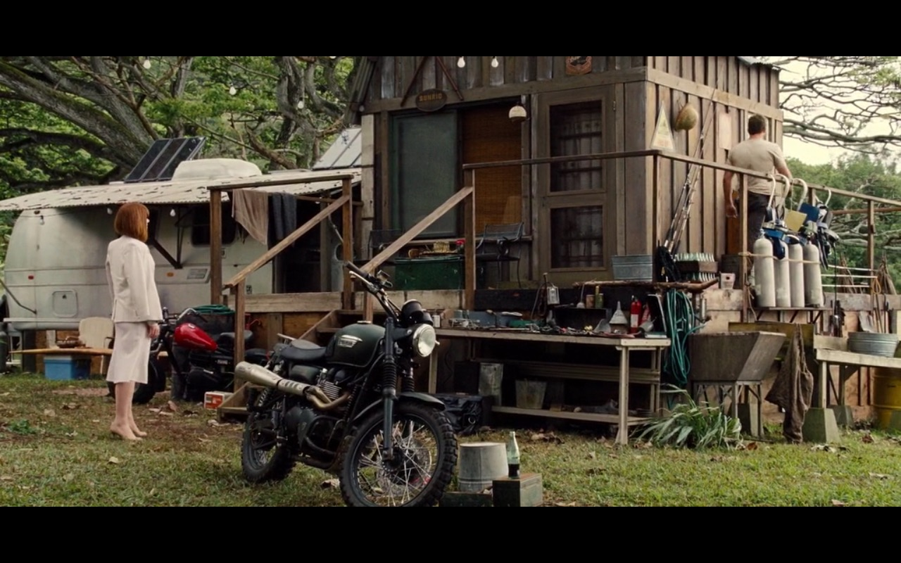 Triumph Scrambler Jurassic World 2015 Movie