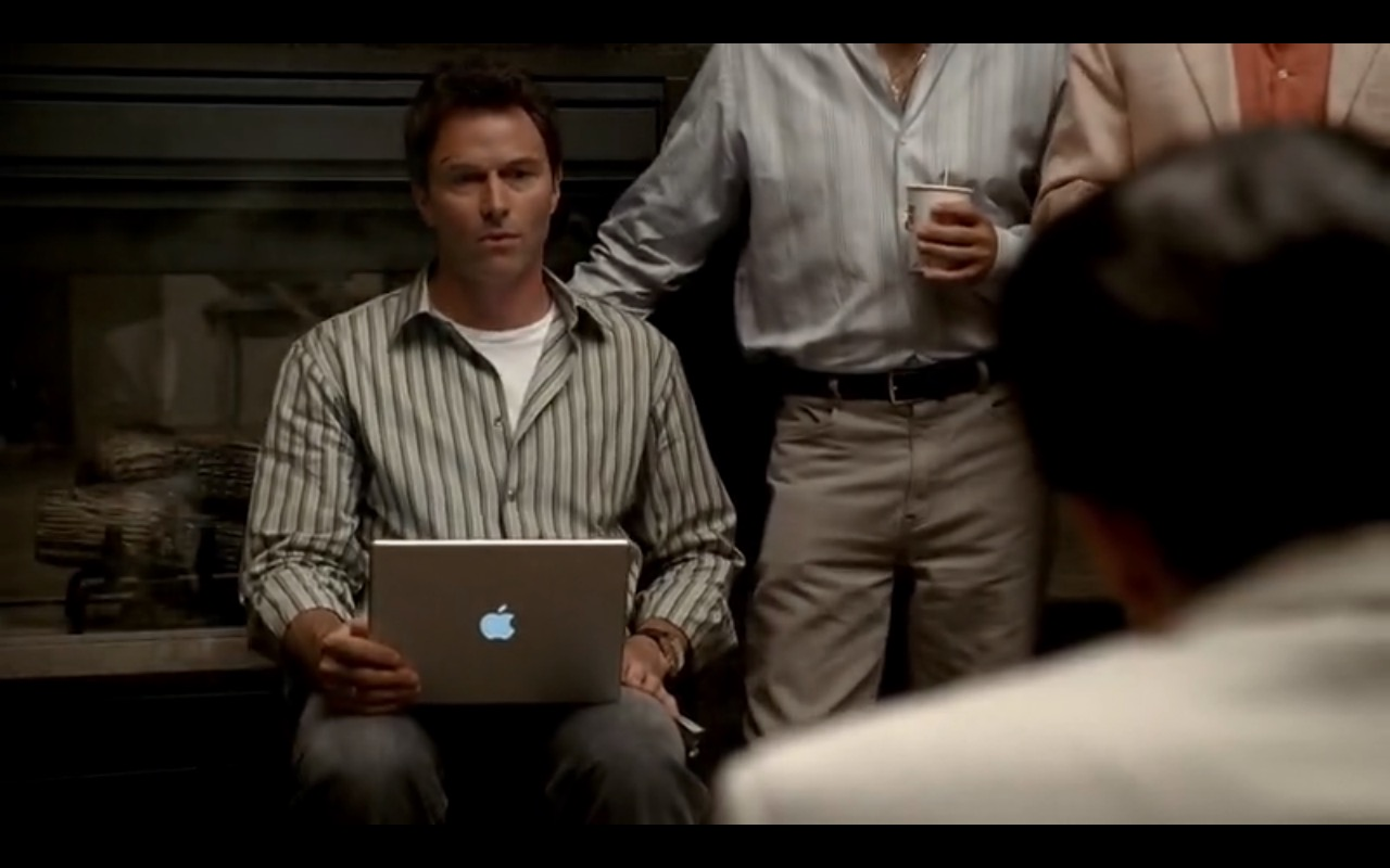 Apple MacBook Pro – The Sopranos - TV Show Product Placement