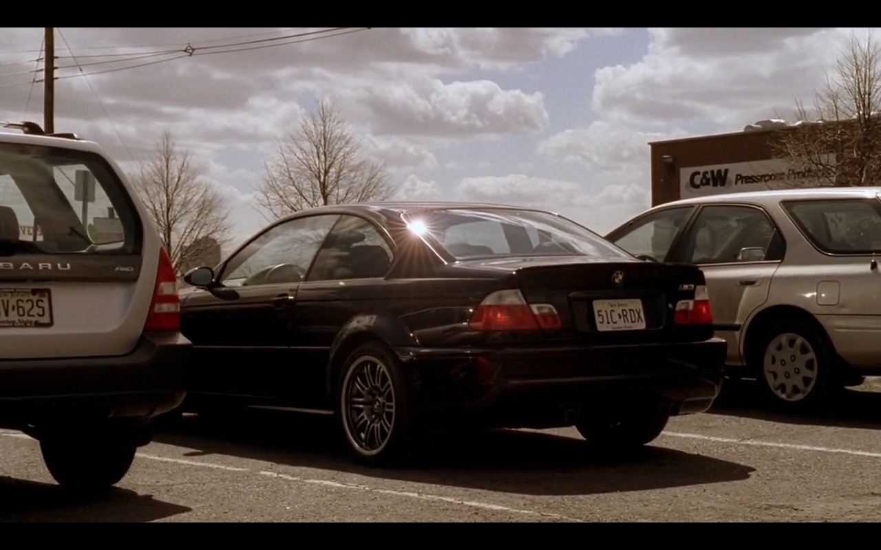 BMW M3 - The Sopranos TV Show Product Placement