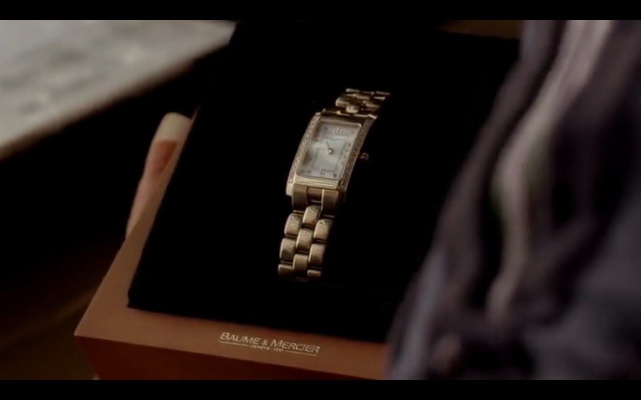 Baume & Mercier Women's Watches - The Sopranos TV Show Product Placement