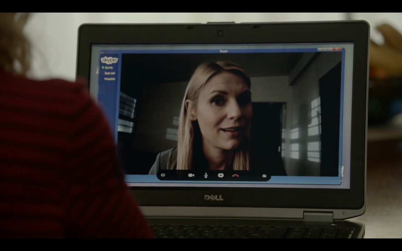 DELL Notebook and Skype – Homeland TV Show Product Placement