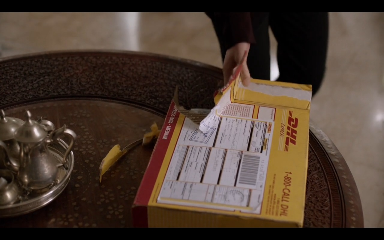 DHL Express - Homeland TV Show Product Placement