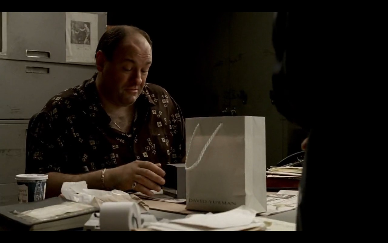David Yurman Men's Watches – The Sopranos - TV Show Product Placement