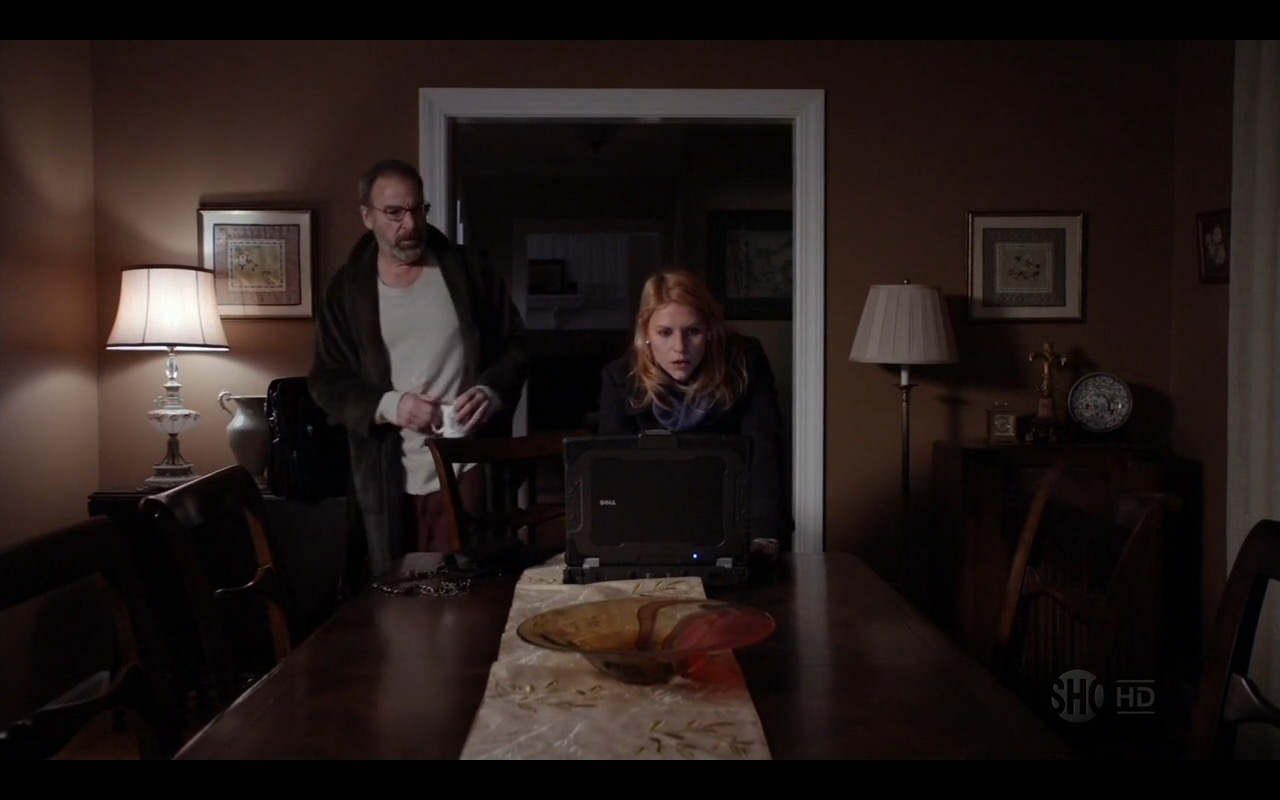 Dell XFR Laptop – Homeland - TV Show Product Placement