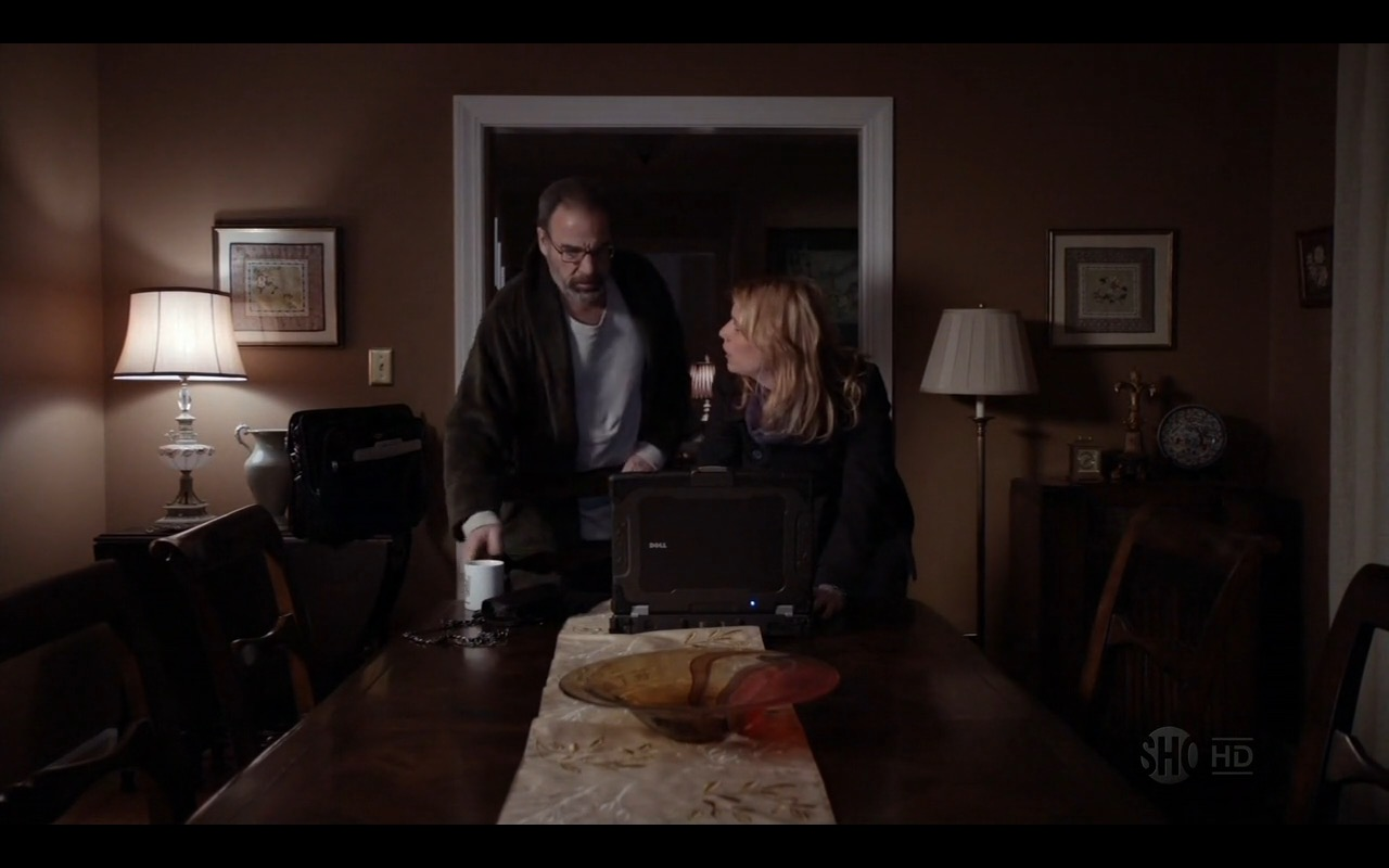 Dell XFR Laptop – Homeland TV Show Product Placement