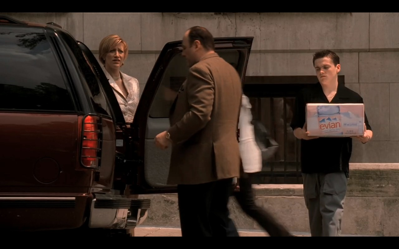 Evian Water Boxes in The Sopranos - TV Show Product Placement