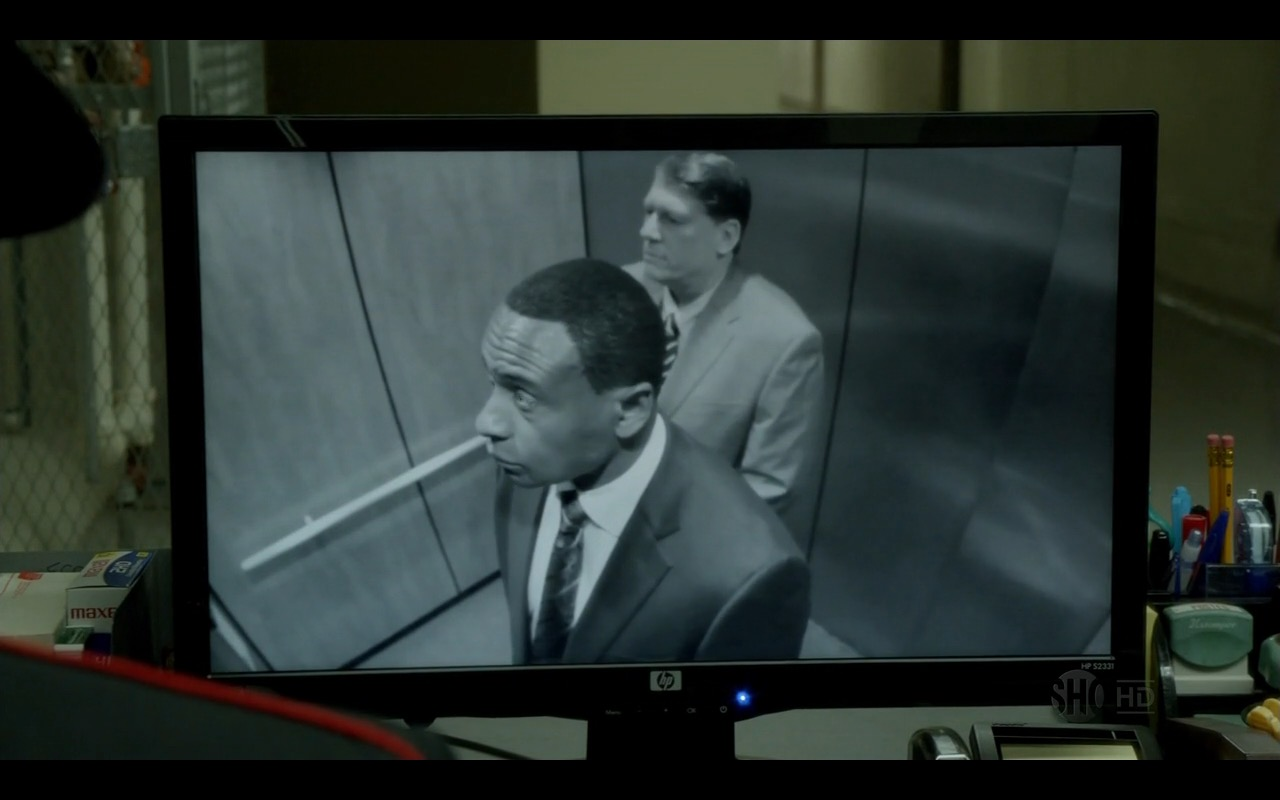 HP Monitor - Homeland TV Show Product Placement