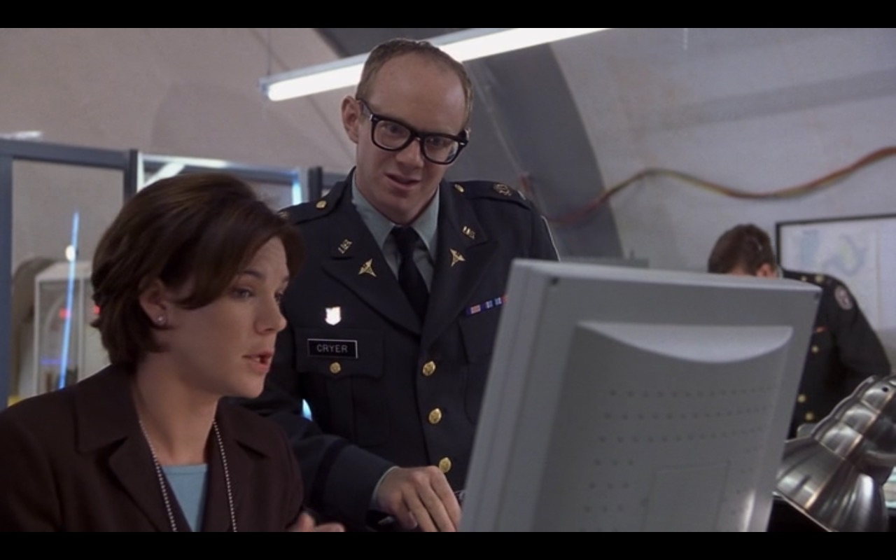Hitachi Monitors - Evolution (2001) Movie Product Placement