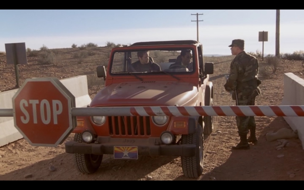 Red Jeep Wrangler – Evolution (2001) Movie Product Placement