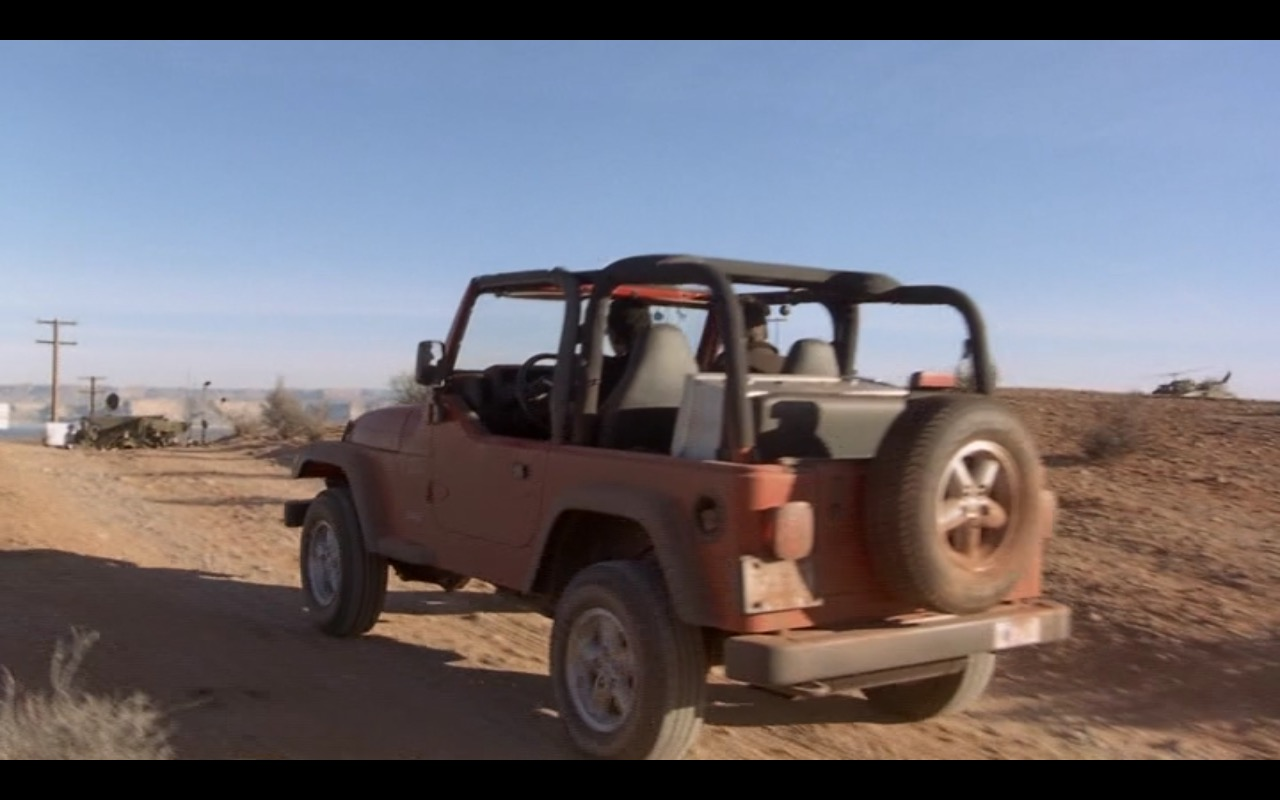 Red Jeep Wrangler – Evolution (2001) - Movie Product Placement
