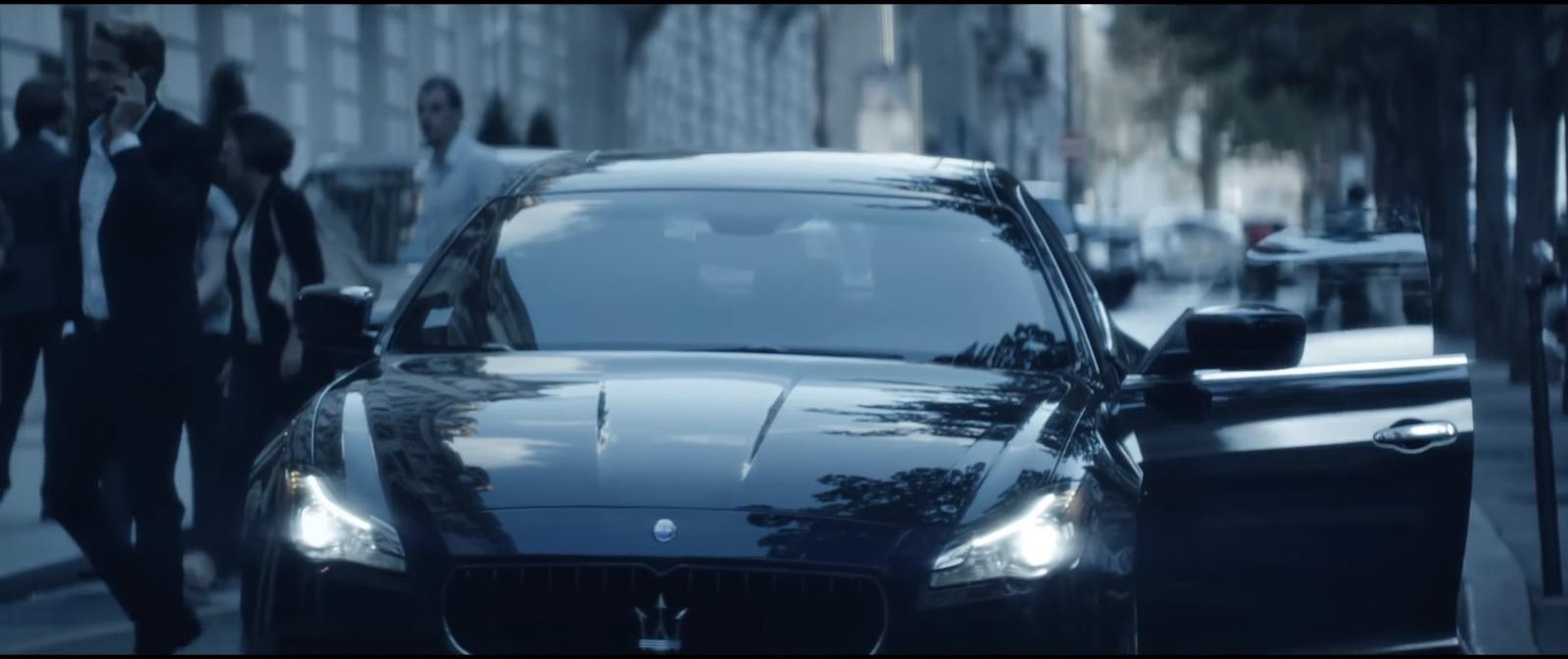 Maserati Quattroporte - Mylène Farmer & Sting - Stolen Car (1)