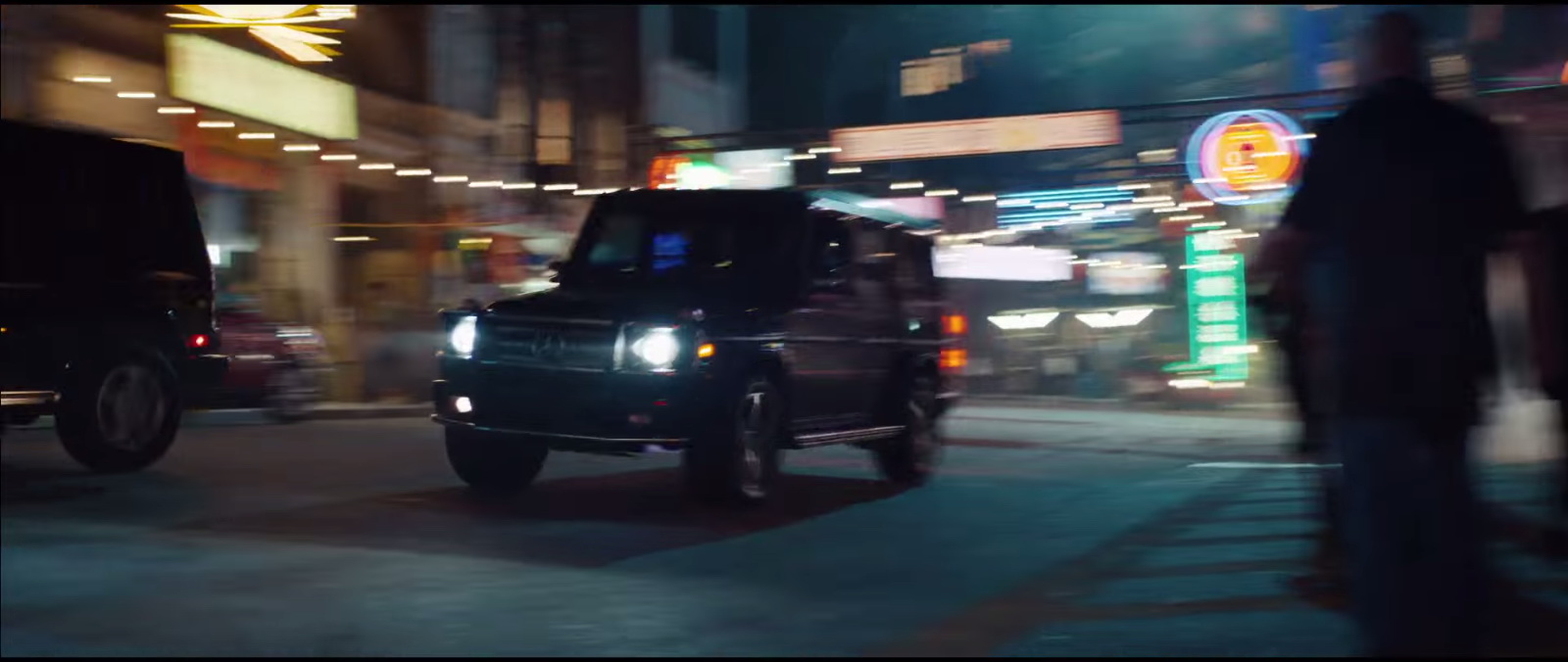 Mercedes-Benz G-Class – Eminem – Phenomenal Official Music Video Product Placement