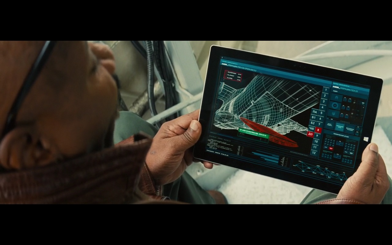 Microsoft Surface Tablets – Mission: Impossible – Rogue Nation (2015) Movie Product Placement
