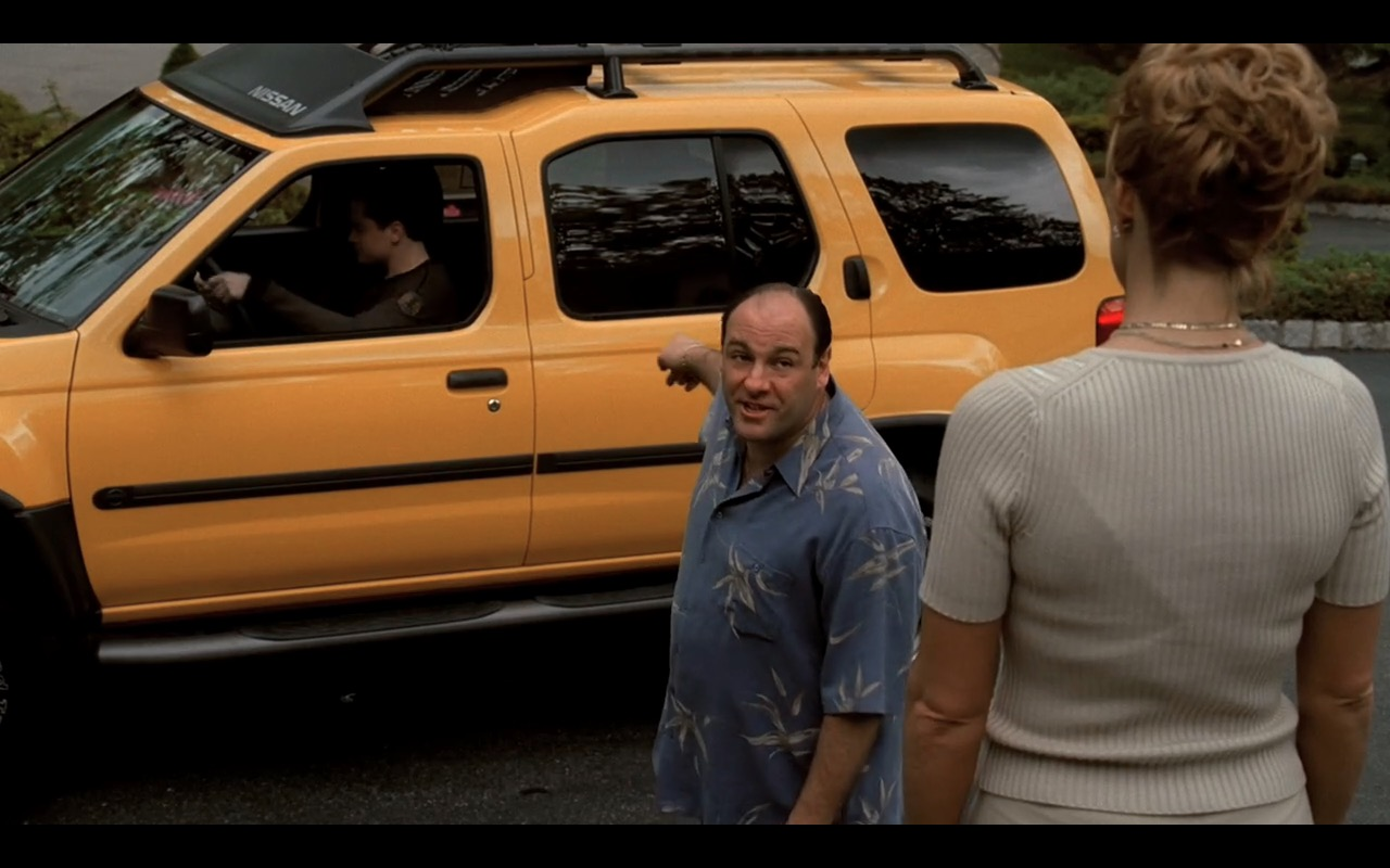 Nissan Xterra  - The Sopranos - TV Show Product Placement