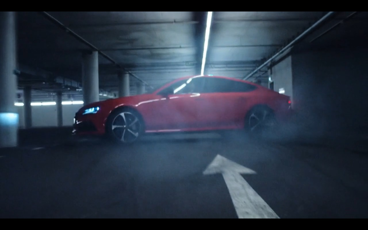 Red Audi RS7 – Hitman: Agent 47 (2015) - Movie Product Placement