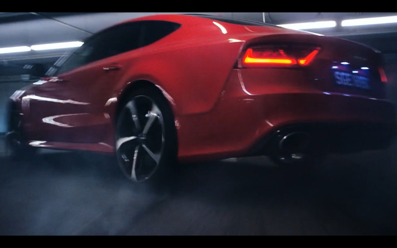 red audi rs7  u2013 hitman  agent 47  2015  movie