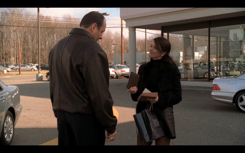 Saks Fifth Avenue and Louis Vuitton Wallet – The Sopranos (1)