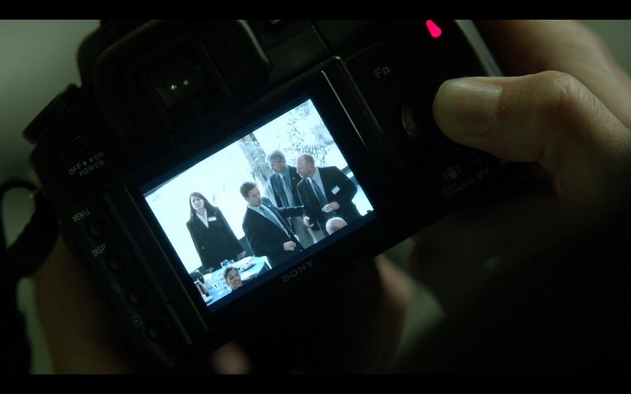 Sony Camera - Homeland TV Show Product Placement