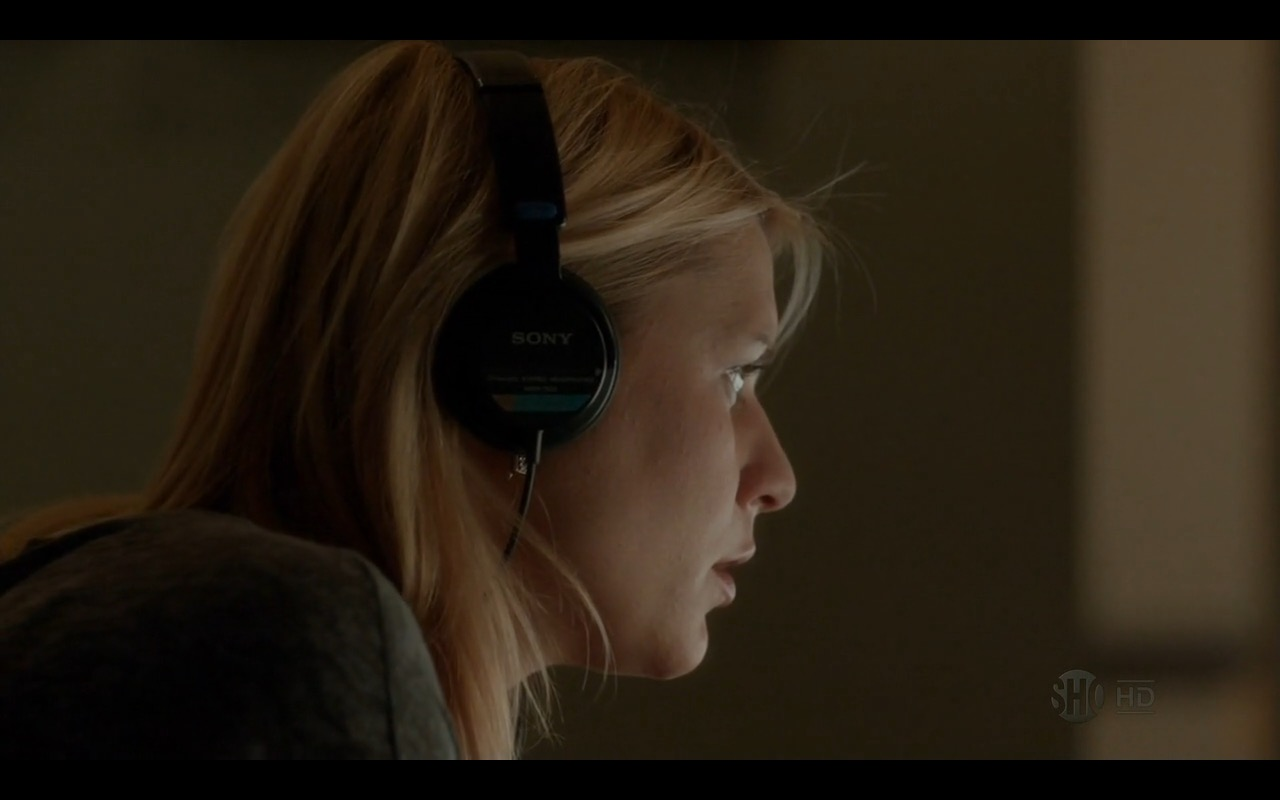 Sony Headphones - Homeland TV Show Product Placement