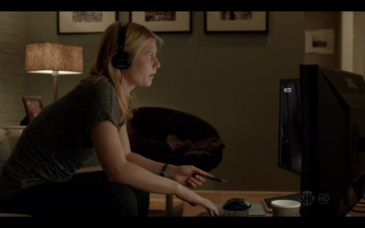 Sony Headphones - Homeland - TV Show Product Placement