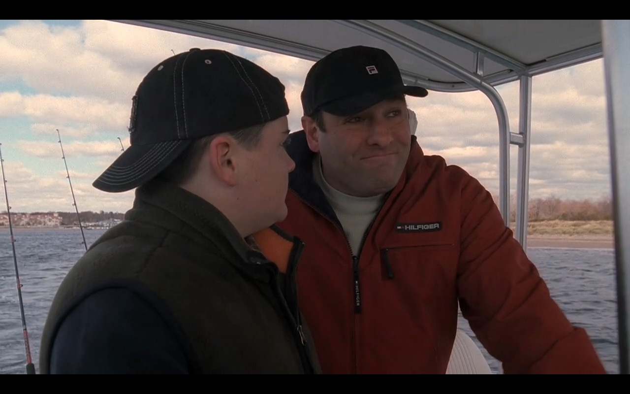 Tommy Hilfiger Men's Jacket and Fila Hat - The Sopranos - TV Show Product Placement