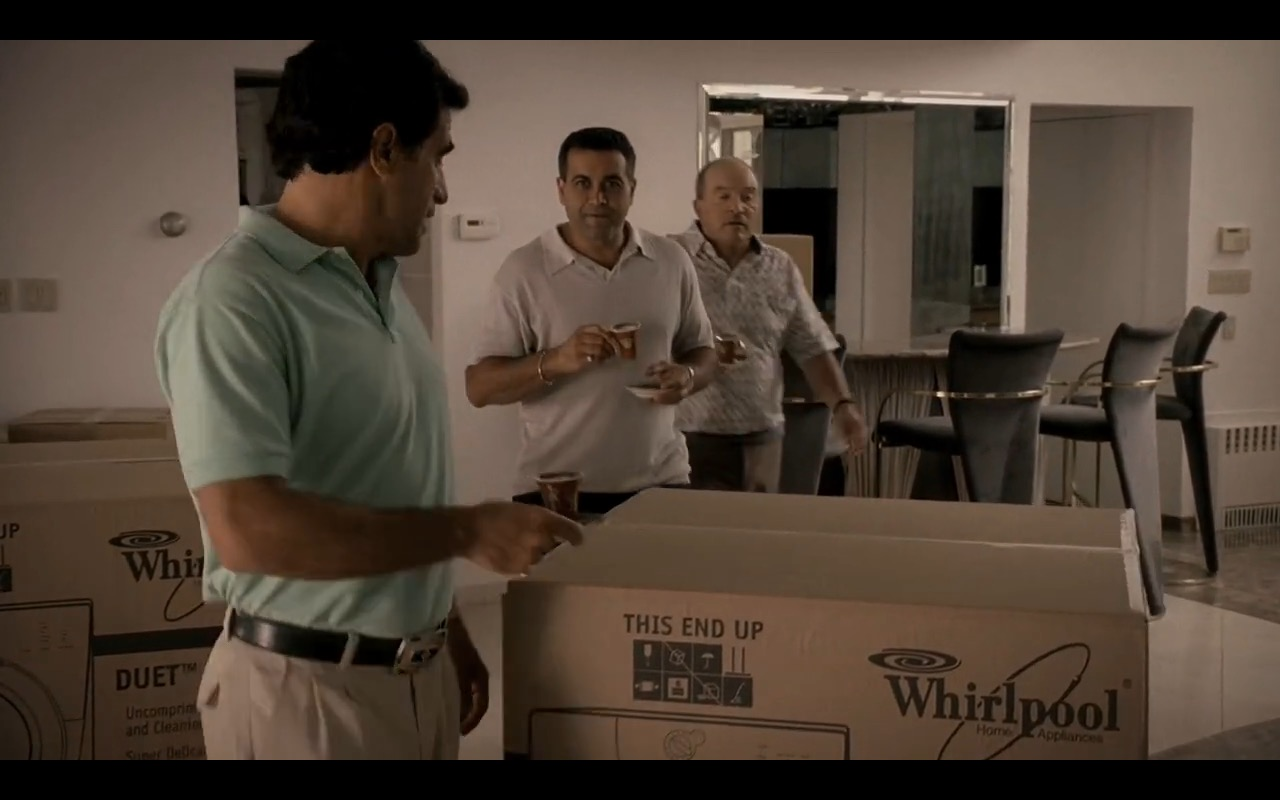 Whirlpool Washing Machine – The Sopranos - TV Show Product Placement