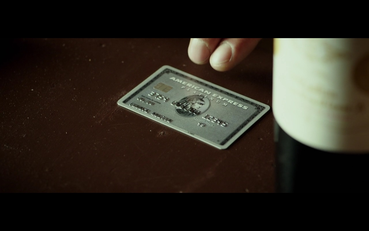 American Express - The Transporter Refueled (2015) Movie Product Placement