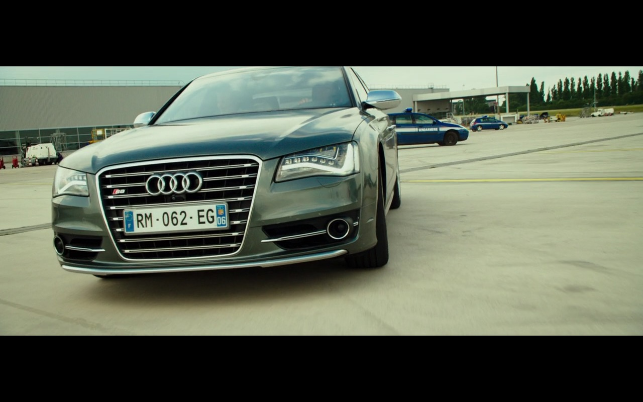 Audi S8 The Transporter Refueled 2015 Movie