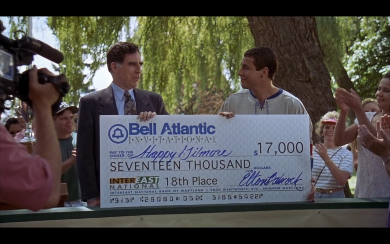 Bell Atlantic – Happy Gilmore (1996) Movie Product Placement