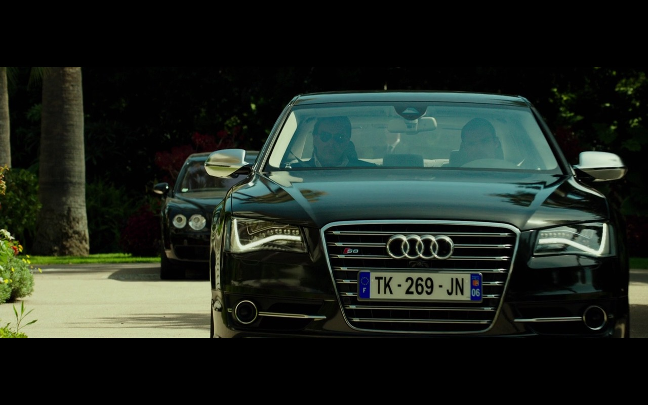 Black Audi S8 – The Transporter Refueled (2015) Movie