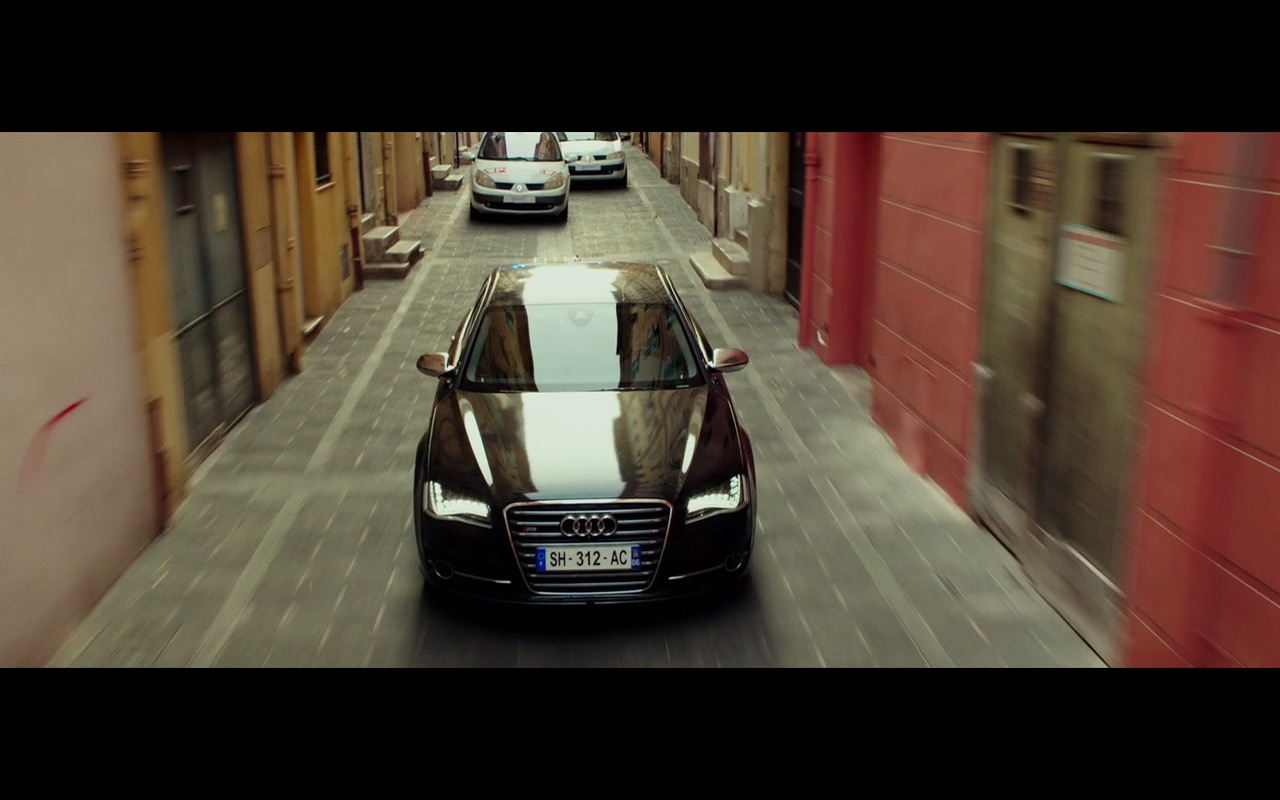 Black Audi S8 - The Transporter Refueled (2015) Movie Product Placement